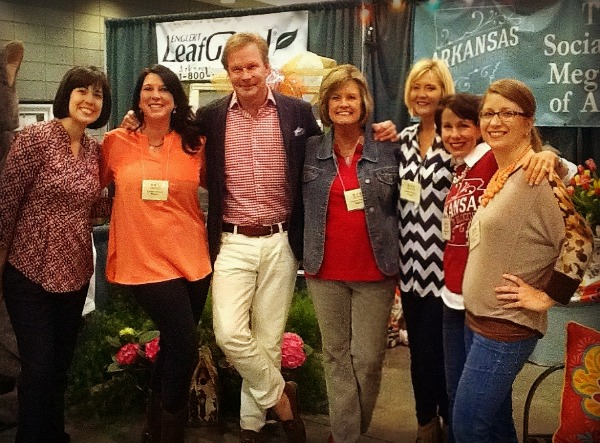 Arkansas women bloggers and P. Allen Smith