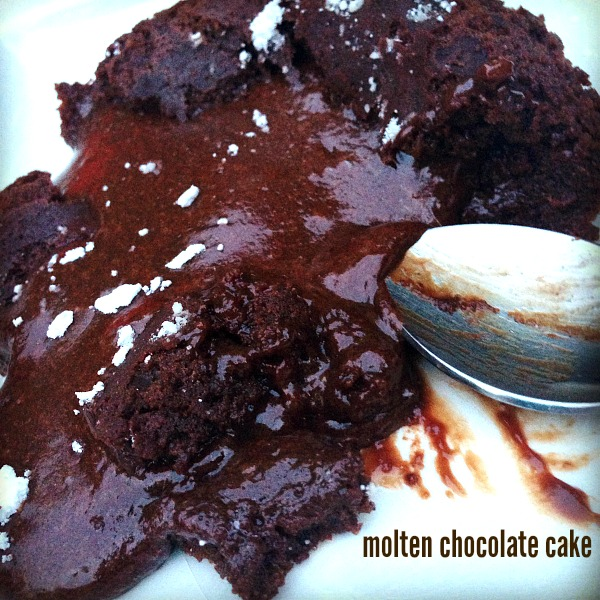 molton chocolate cake