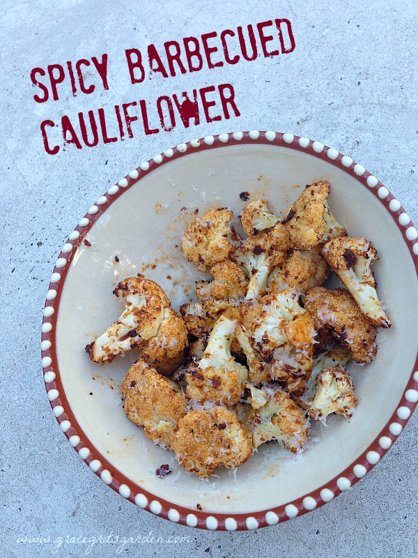 Spicy Barbecued Cauliflower