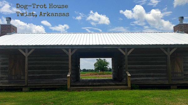 Dog-Trot House, Twist, Arkansas