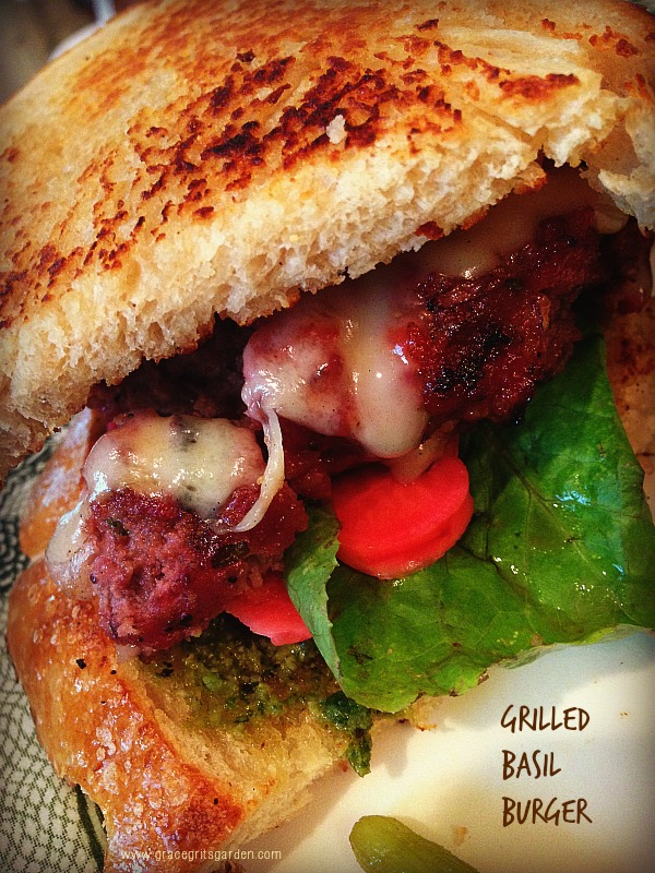 Grilled Basil Burger