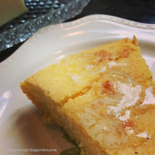 cornbread with my secret ingredient!