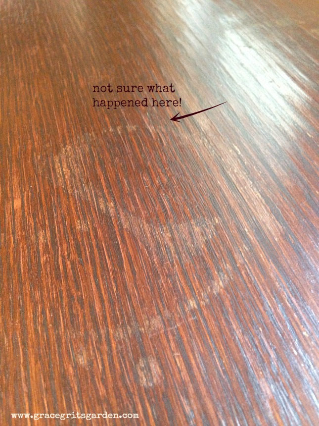 how to remove water spots on wood