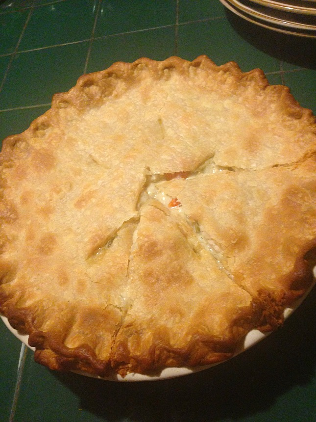 Barbara's chicken pot pie