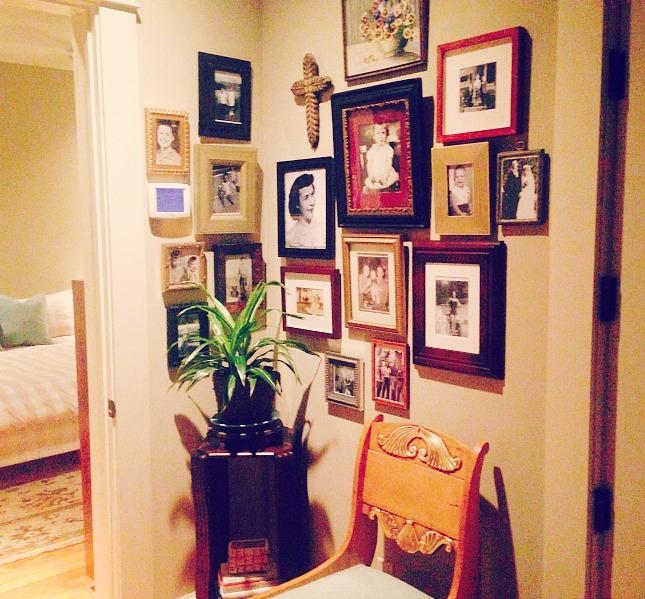 photo wall display