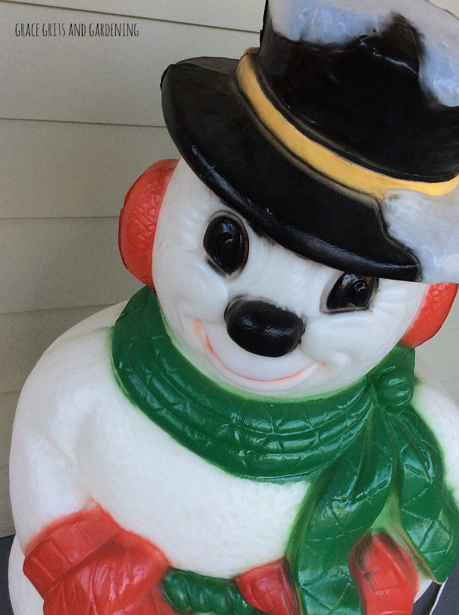 Frosty on the front porch