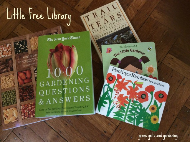 Little Free Library - a few books to start