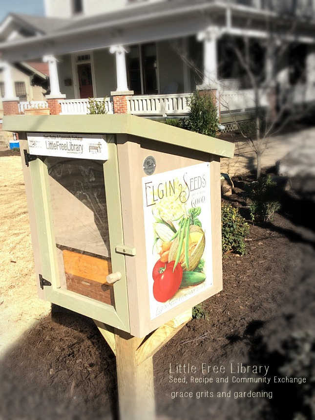 Our Little Free Library!