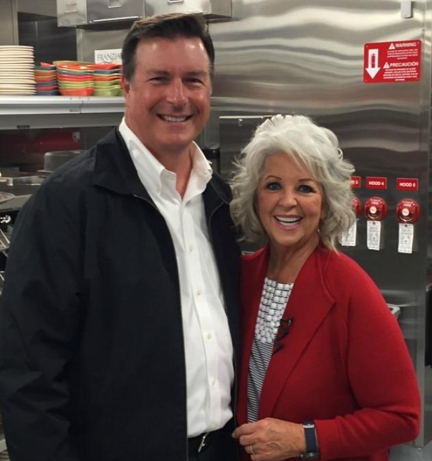 John B and Paula Deen