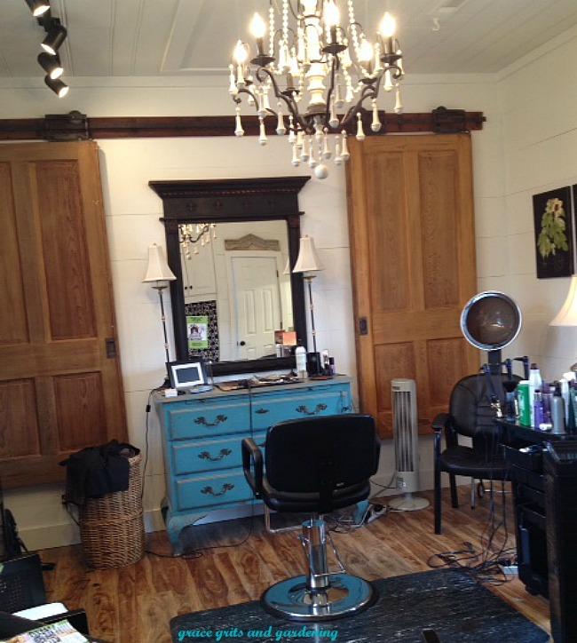 Vintage Cargo, hair salon