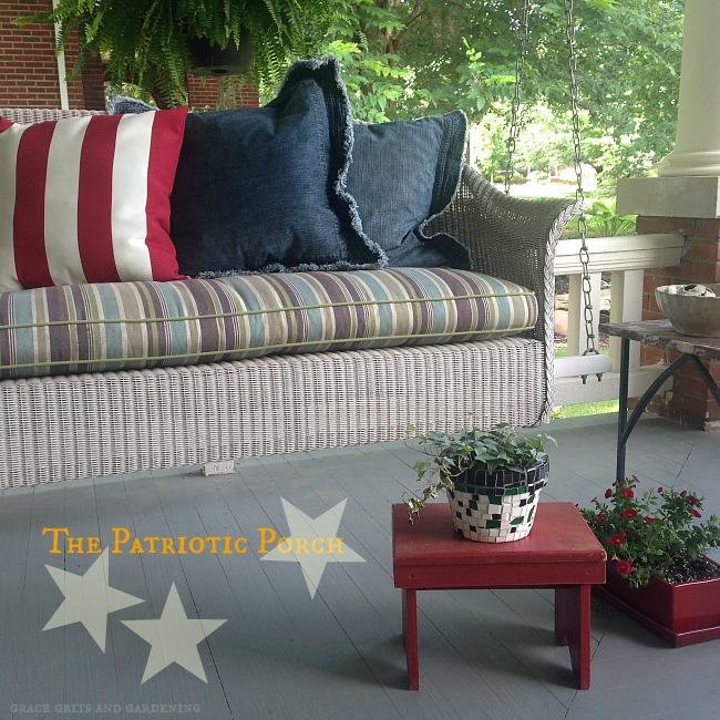 The Patriotic Front Porch