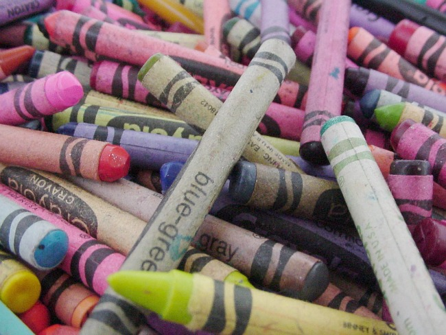 crayons - the lost art of summer