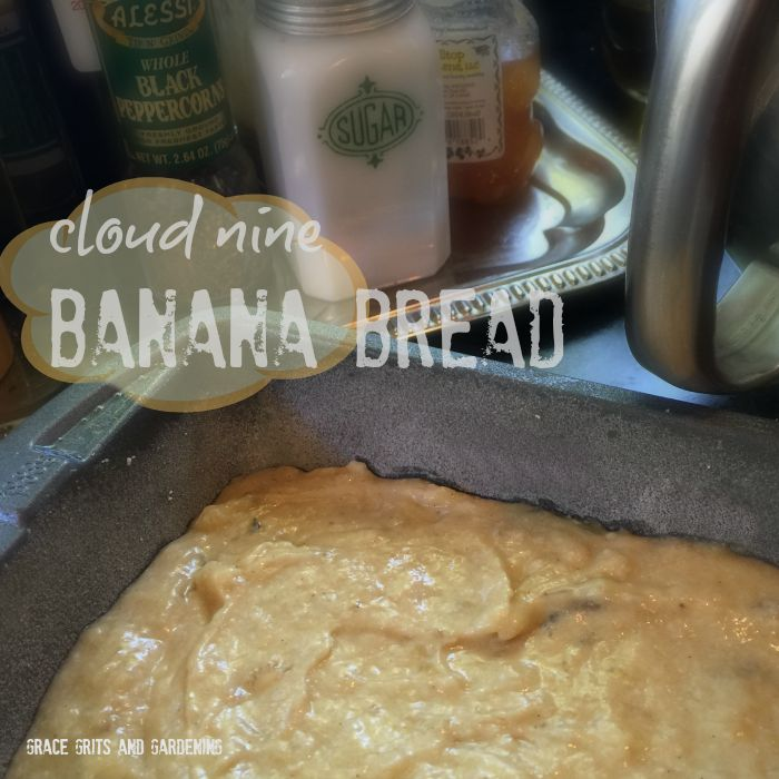 cloud nine banana bread