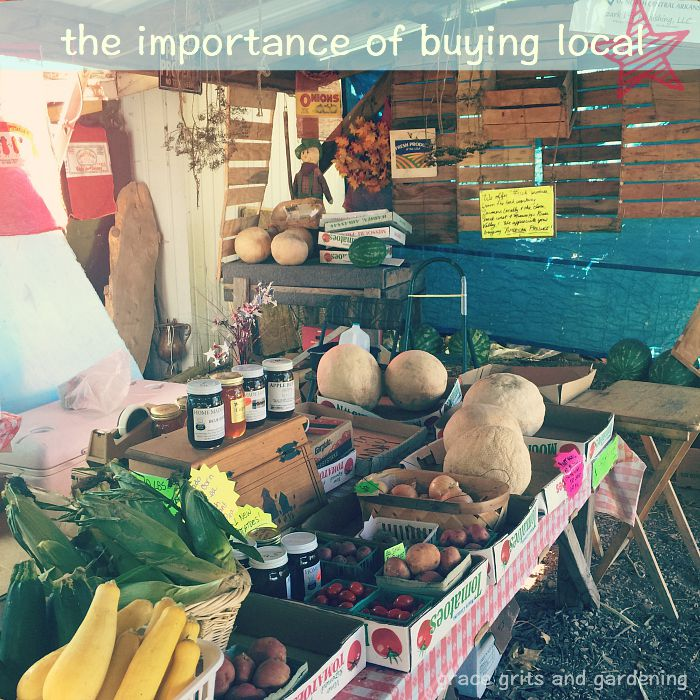 the importance of buying local