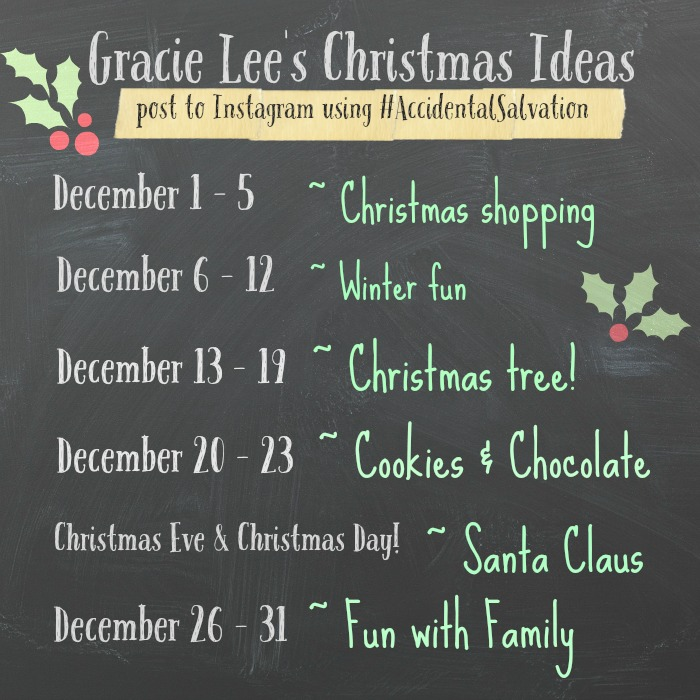 Gracie Lee's Christmas Ideas - Instagram Challenge