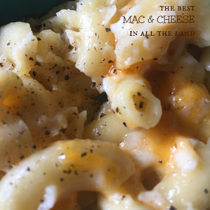 the best mac and cheese!