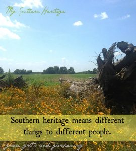 My southern heritage.