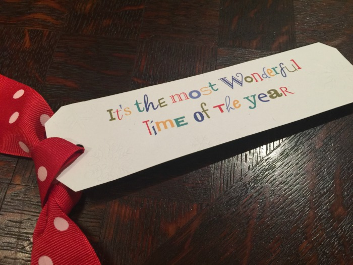 Upcycle your Christmas cards into tags!