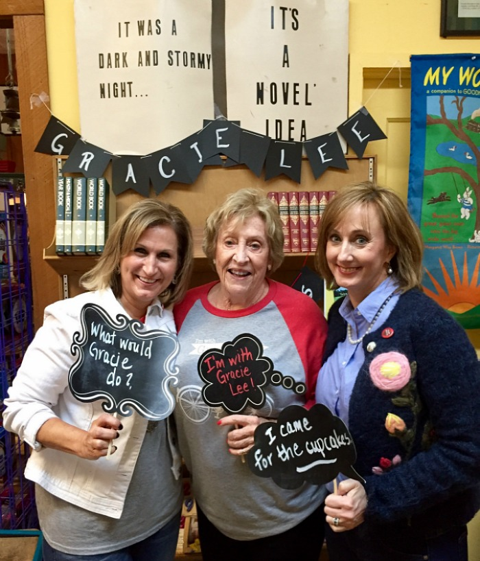 I came for the cupcakes - The Accidental Salvation of Gracie Lee Book signing