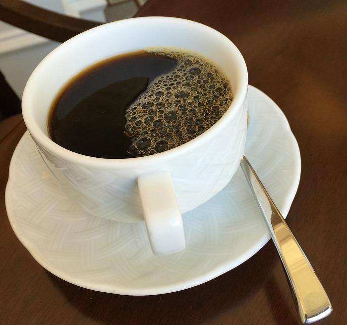 Capital Hotel coffee.