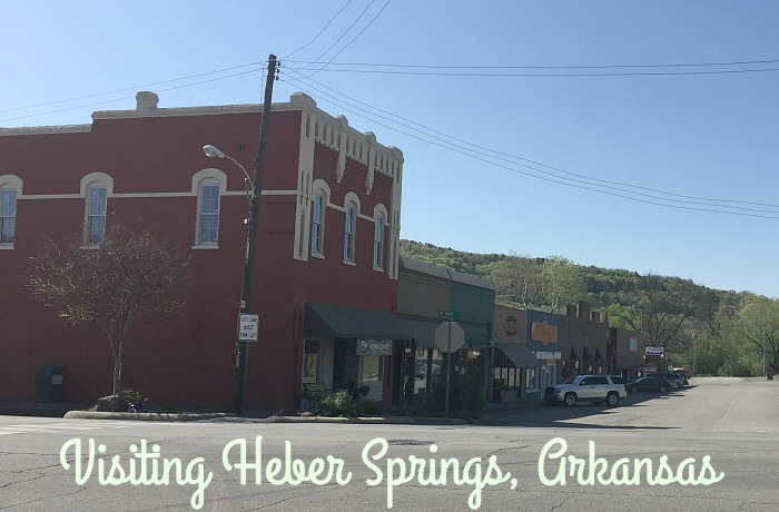 visiting heber springs arkansas