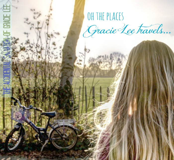 Oh the places Gracie Lee travels!