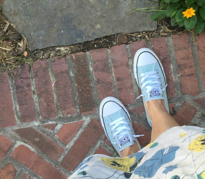 new Converse Pool Blue