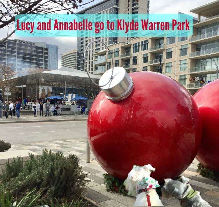 Lucy and Annabelle go to Klyde Warren Park