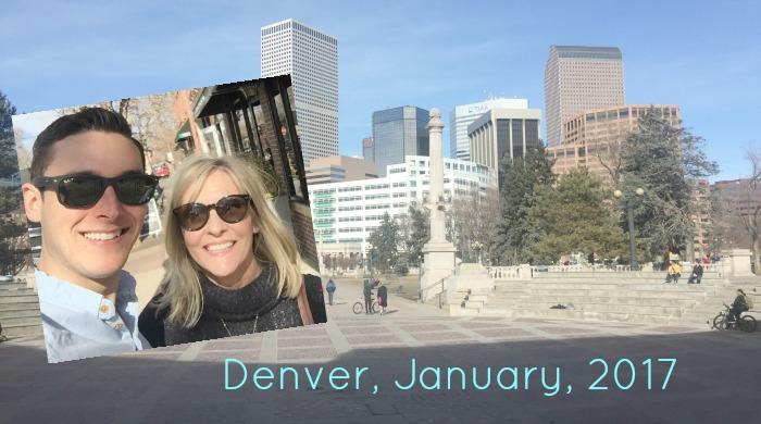 Denver trip - glimpses of us