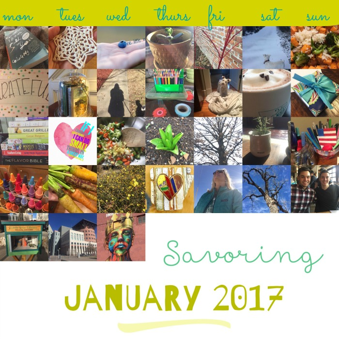 Savoring January 2017