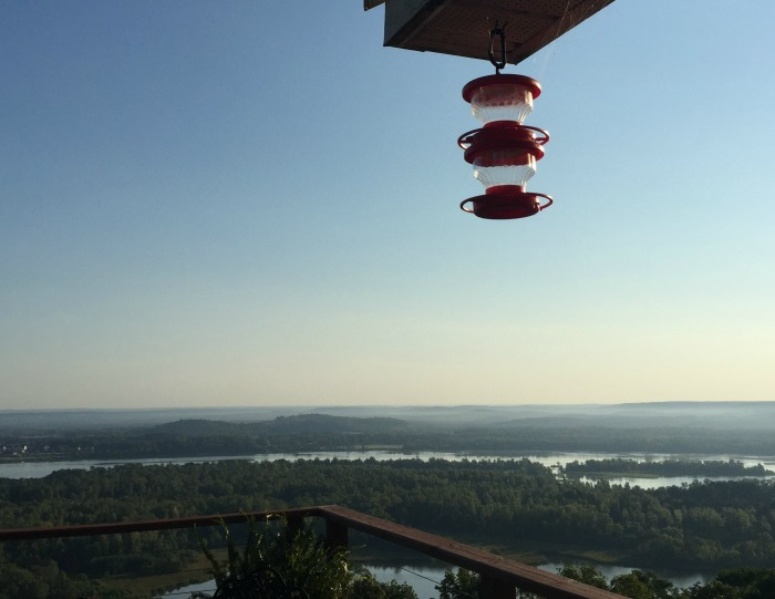 Arkansas River from my friend dorothy's house