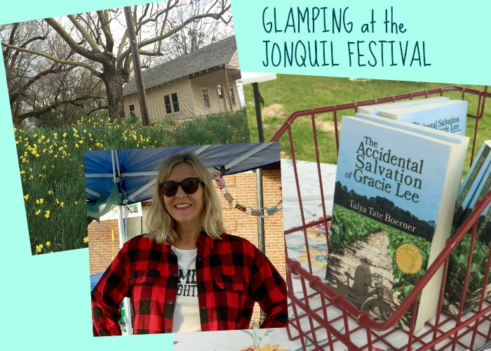 Glamping at the Jonquil Festival