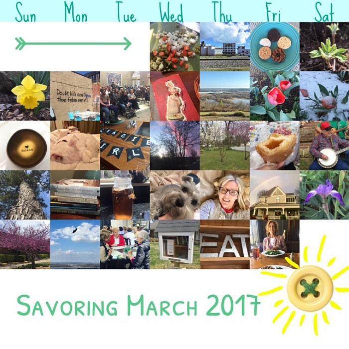 Savoring March 2017