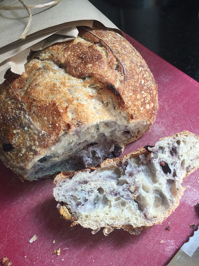olive and walnut bread