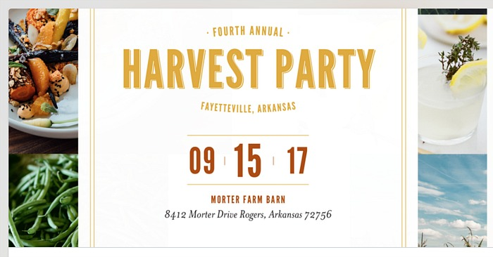 Harvest Party, Cobblestone Farm