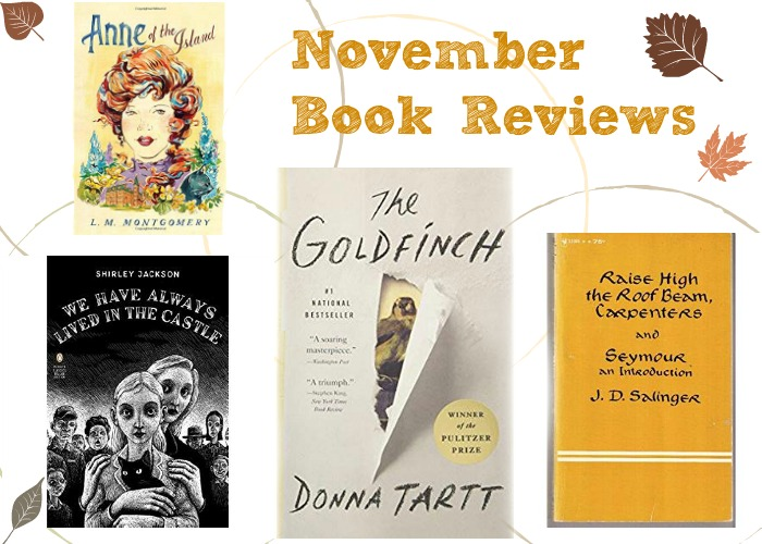Books I Read in November