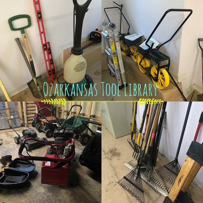 Ozarkansas Tool Library! - grace grits and gardening