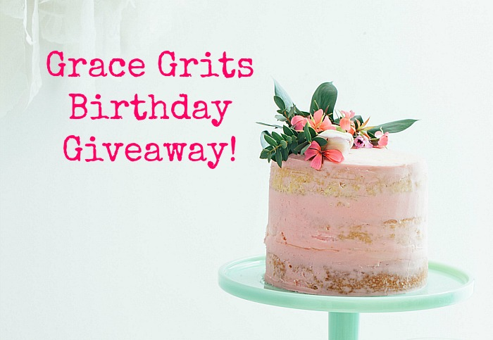 Grace Grits Birthday Giveaway